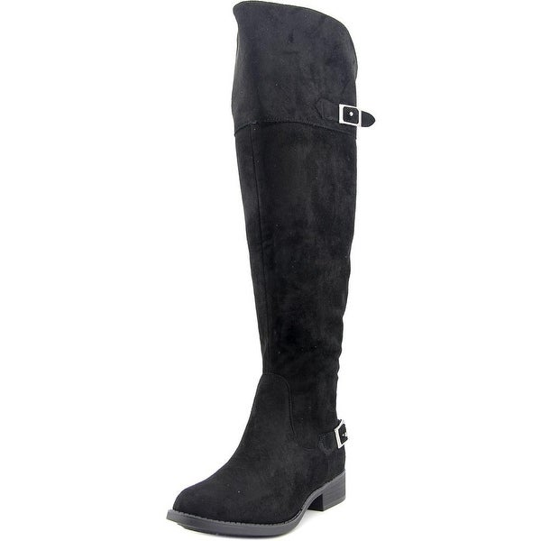 American Rag Aada Wide Calf Women Round Toe Synthetic Black Over the Knee Boot