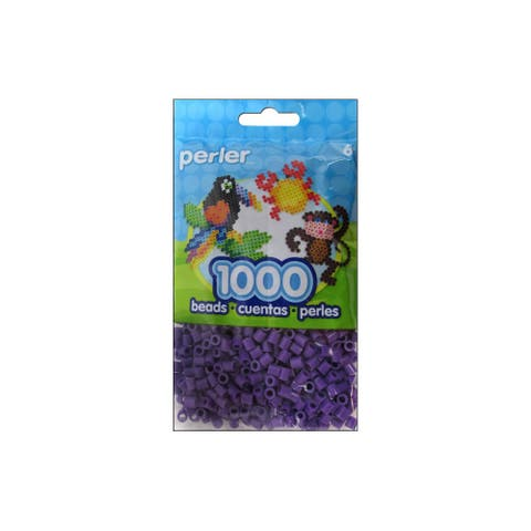 Perler Fused Bead Bag 1000pc Purple