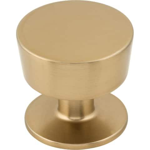 "Top Knobs M1570 Essex 1-3/16"" Mushroom Cabinet Knob from the Nouveau - Honey Bronze"