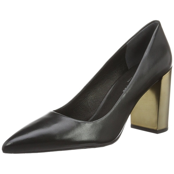 Kenneth Cole New York Women's Margaux Dress Pump, Black/Pewter, Size 6.5