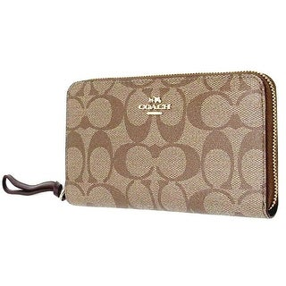 Coach Signature PVC Phone Women Wallet