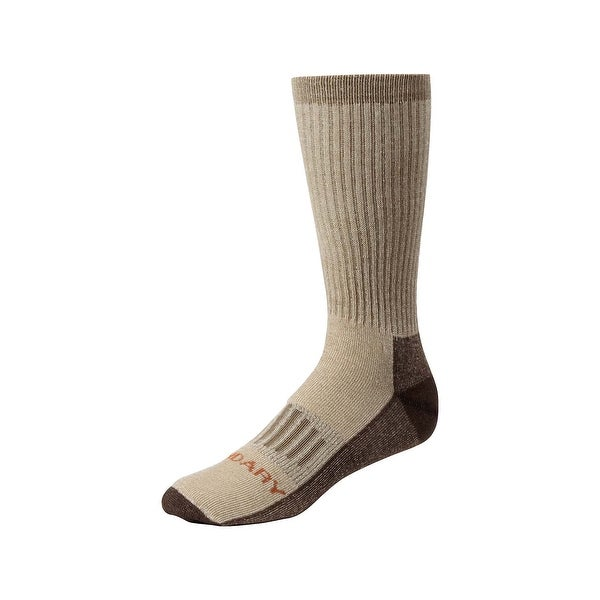 Legendary Whitetails Men's HuntGuard Nanotec Merino Wool Crew Sock - KHAKI