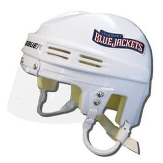Official NHL Licensed Mini Player Helmets - Columbus Blue Jackets -