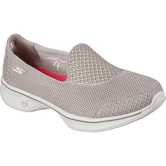 Skechers Women's GOwalk 4 Propel Walking Shoe Taupe