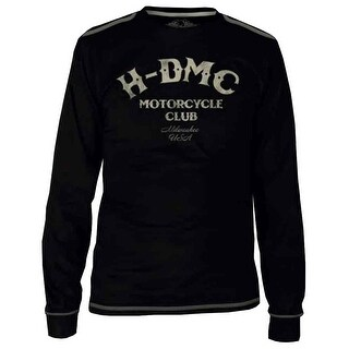 Harley-Davidson Men's Black Label Tribute Long Sleeve T-Shirt - Black 30291525