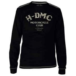 e2da6ca7bb6f4 Harley-Davidson Men s Black Label Tribute Long Sleeve T-Shirt - Black  30291525
