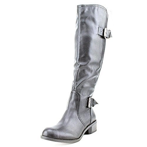 S.C. Derbey Wide Calf Knee-High Boots