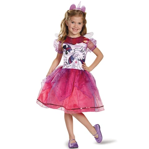 Disguise Twilight Sparkle Deluxe Child Costume - Pink