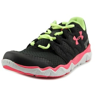 Under Armour UA W Micro G Optimum Women Round Toe Synthetic Black Sneakers