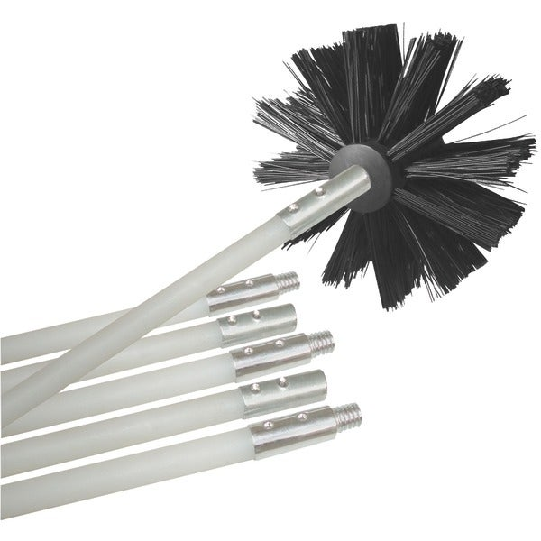 Deflecto Dvbrush12K/6 12Ft Dryer-Duct Cleaning Kit