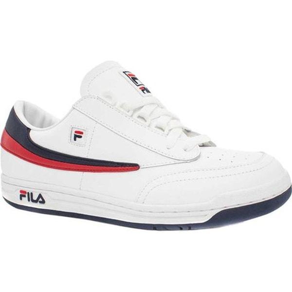 7fcb0ae2c8a7 ... Men s Shoes     Men s Sneakers. Fila Men  x27 s Original Tennis White  Fila Navy Fila Red. Click to Zoom