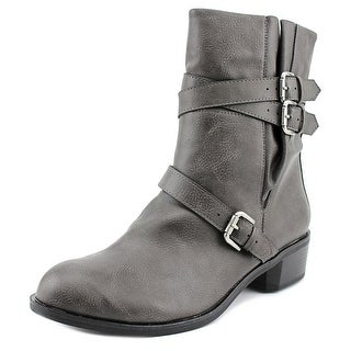 Style & Co Baxten Women  Pointed Toe Synthetic Gray Ankle Boot