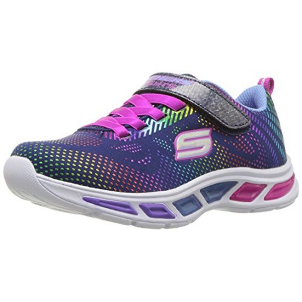 Shop Skechers Kids Girls Litebeams Gleam N Dream Sneaker