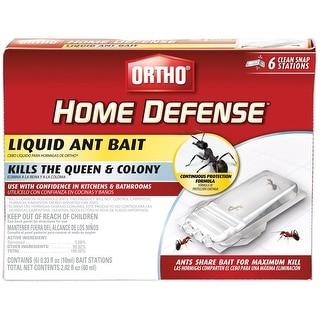 Ortho 0464812 Home Defense Liquid Ant Bait Station, 6/Pack