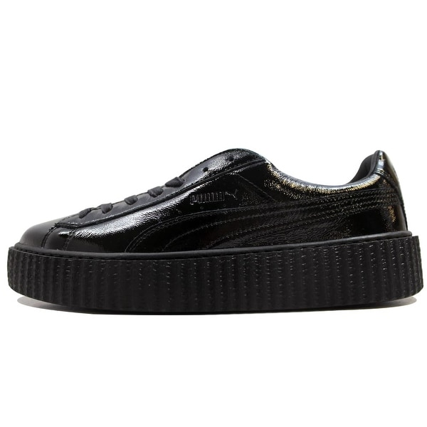 Puma Men  x27 s Creeper Cracked Leather Puma Black Puma X Fenty Rihanna  364641 42e83c1fe