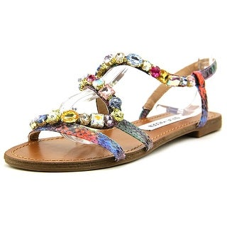 Steve Madden Blazzzed Women Open-Toe Synthetic Multi Color Slingback Sandal