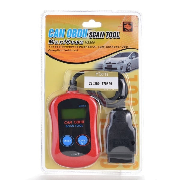 Shop OBDII CAN Car Code Reader Scanner Red - Free Shipping On Orders