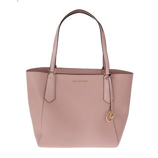 Shop Michael Kors Handbags Pink KIMBERLY Leather Tote Bag - One Size - Free  Shipping Today - Overstock - 26972474