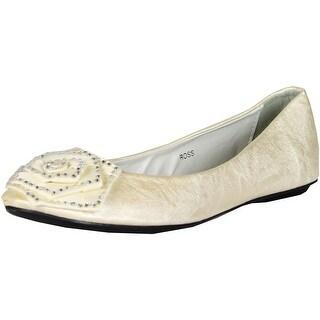 Gcny Good Choice Womens Ross Flats Shoes - White - 41 m eu / 9.5-10 b(m) us
