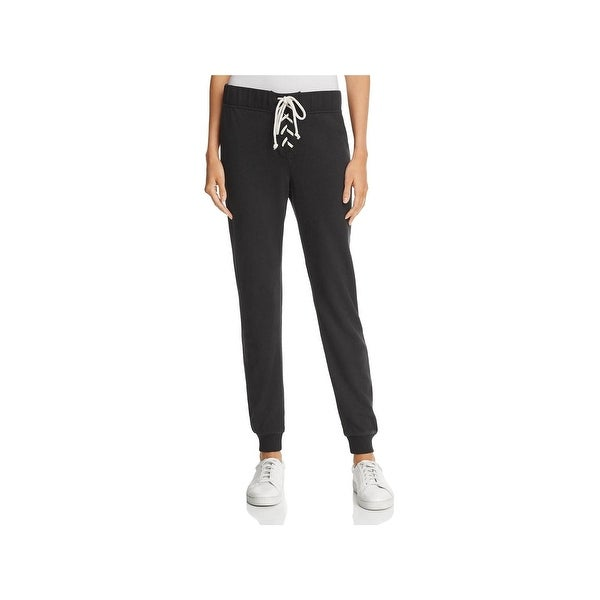 60e8ee37d80848 Shop Alternative Apparel Womens Sweatpants Lace-Up Casual - Free ...