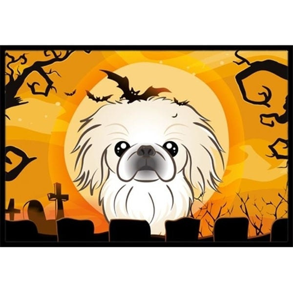Carolines Treasures BB1779MAT Halloween Pekingese Indoor & Outdoor Mat 18 x 27 in.