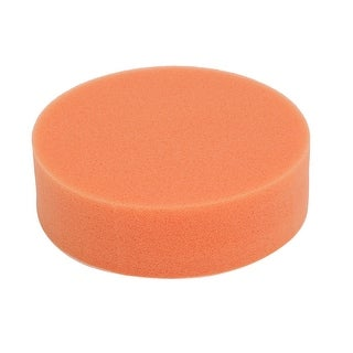 4-inch Diameter Sponge Polishing Wheel Disc Orange for Car