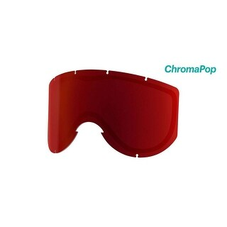 Smith Optics Knowledge Turbo Ski Goggle - Replacement Lens - ChromaPop Sun Red Mirror - KN5CPR2