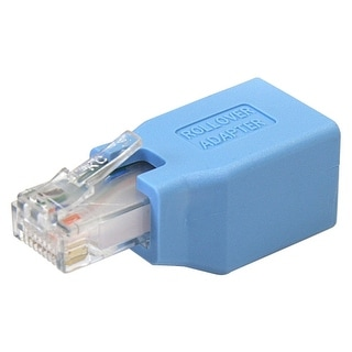 StarTech ROLLOVER StarTech.com Cisco Console Rollover Adapter for RJ45 Ethernet Cable M/F - 1 x RJ-45 Female Network - 1 x RJ-45