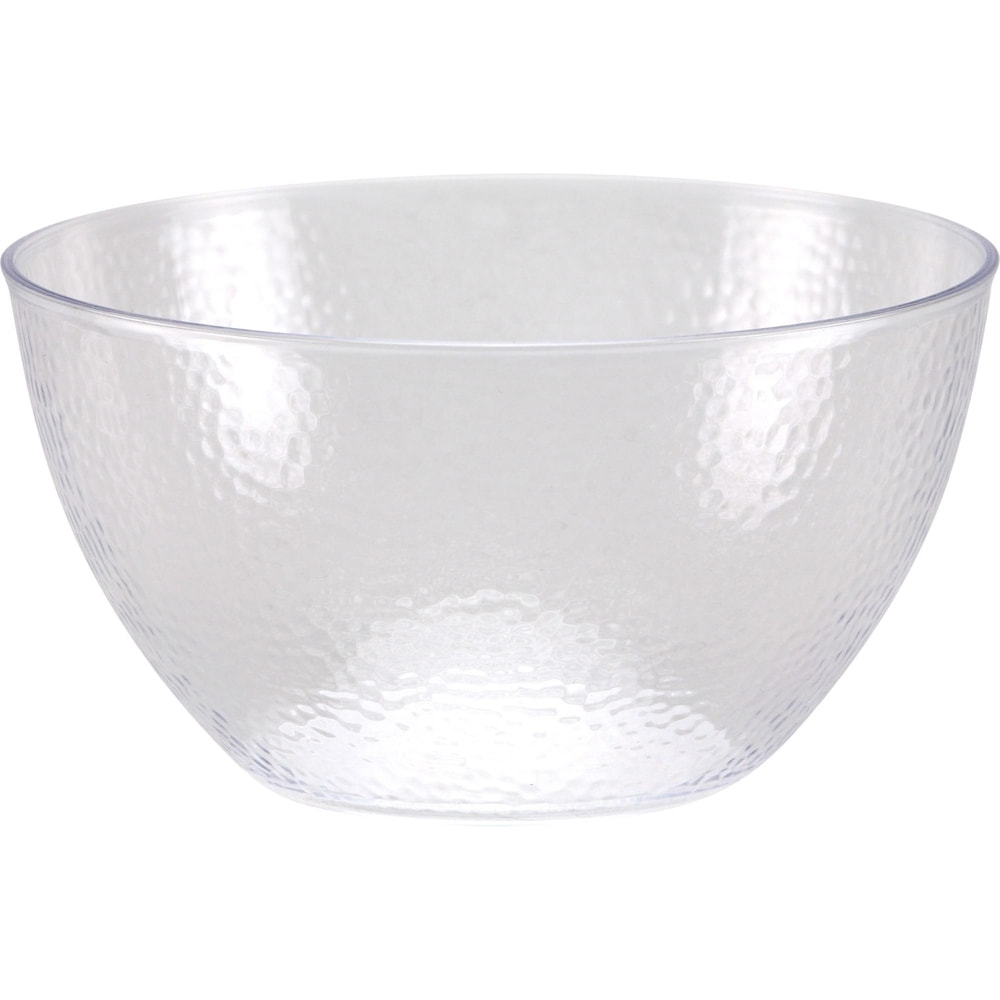 Majestic Gifts European Glass Individual Bowls with Platinum Band Clear Set of 6