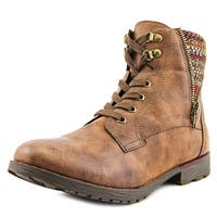 Rock & Candy Tellina Women  Round Toe Synthetic Brown Ankle Boot
