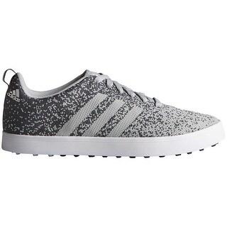 Adidas Men's Adicross Primeknit Clear Onix/White Golf Shoes F33395