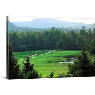 """Golf course"" Canvas Wall Art"