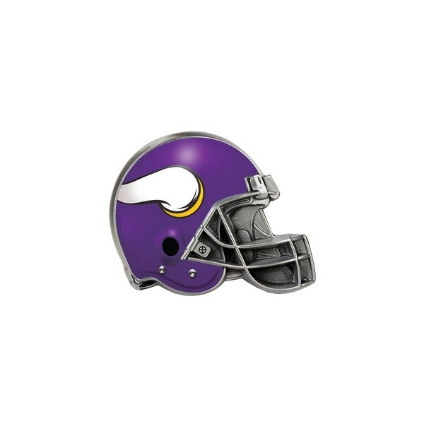 new arrival a9c45 ee25c Great American Products Minnesota Vikings Helmet Trailer Hitch Cover Helmet  Trailer Hitch Cover