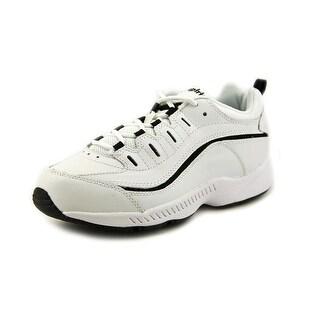 Easy Spirit Romy Round Toe Leather Walking Shoe