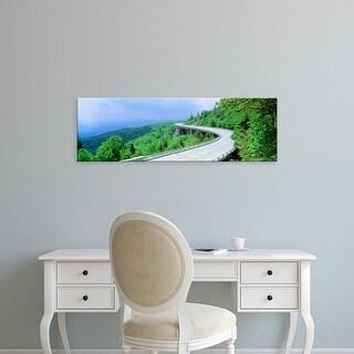 Easy Art Prints Panoramic Images's 'USA, North Carolina, Blue Ridge Parkway' Premium Canvas Art