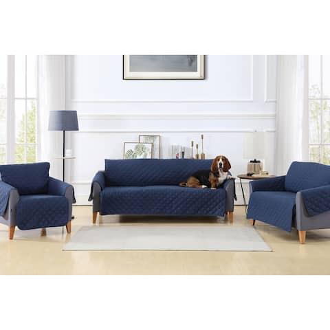 Reversible Slipcover Furniture Protectors Love Seat