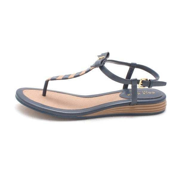 Cole Haan Womens Linchensam Open Toe Casual Ankle Strap Sandals - 6