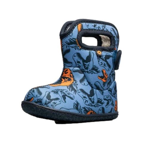 Bogs Outdoor Boots Boys Cool Dinos Waterproof Insulated