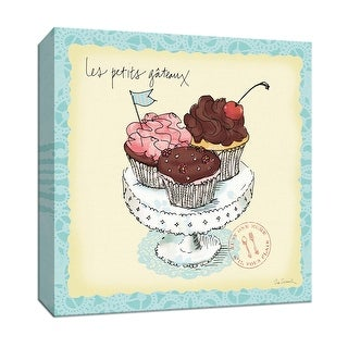 "PTM Images 9-151967  PTM Canvas Collection 12"" x 12"" - ""Dessert Please II"" Giclee Baked Goods Art Print on Canvas"