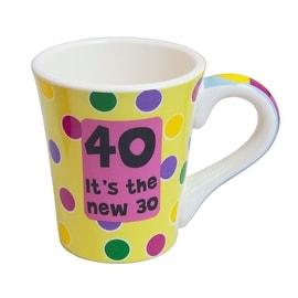 Tumbleweed Pottery 40th Birthday Mug