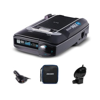 Escort Max 360 Long Range GPS AutoLearn Live App Enabled Laser Radar Detector + 1 Year Extended Warranty