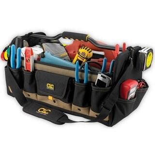 """CLC 1579 Open Top Soft-Sided Tool Box, 20"""" L x 11"""" W"""