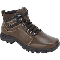Rockport Men's Elkhart Dark Brown Leather
