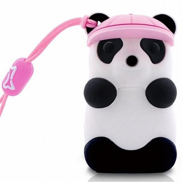Bone Collection D08022P 8 GB Panda USB Drive, Pink Hat