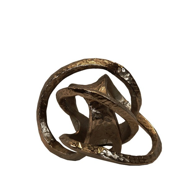 Silver Decorative Iron Knot. Opens flyout.