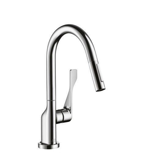Axor 39836 Citterio Pull-Down Prep Kitchen Faucet with Magnetic ...