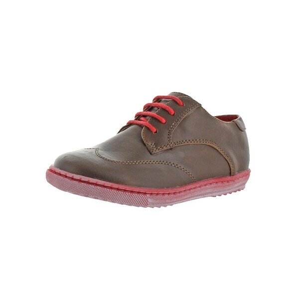 Shop Cole Haan Boys Anthony Jasper Wingtip Shoes Youth Toddler ... 20150a745d2