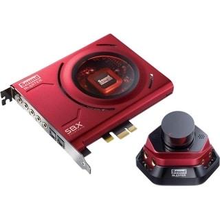 Sound Blaster 70SB150600000 Sound Blaster Zx PCIe Sound Card - 24 bit DAC Data Width - 5.1 Sound Channels - Internal - Creative