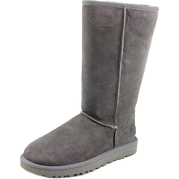 Ugg Australia Classic Tall ll Women Round Toe Suede Gray Winter Boot