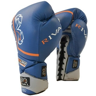 Rival Boxing Pro Sparring Gloves - Blue